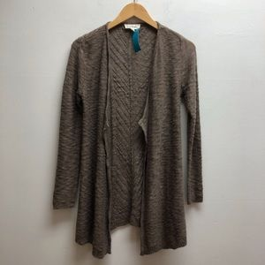 Cloud chaser brown cardigan